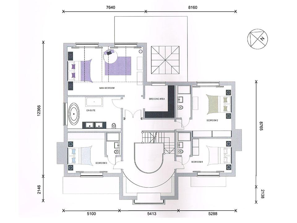 Tall Pines - Plot 1 - First Floor