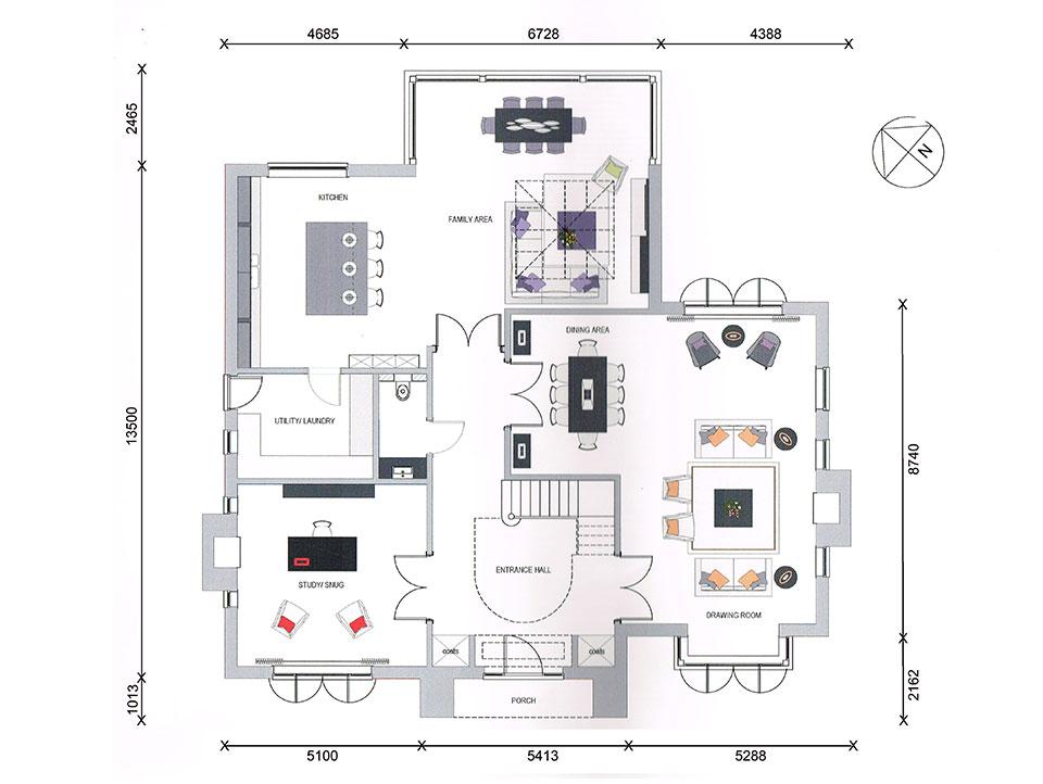 Tall Pines - Plot 1 - Ground Floor