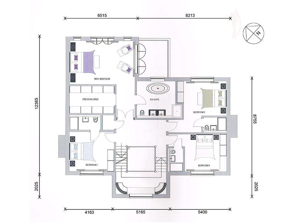 Tall Pines - Plot 2 - First Floor